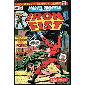 Marvel Premiere (1972) #23 VF- (7.5) featuring Iron Fist