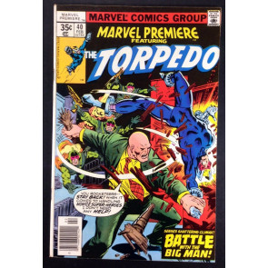Marvel Premiere (1972) #40 FN/VF (7.0) featuring Torpedo