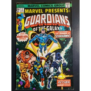 MARVEL PRESENTS #3 (1975) F+ (6.5) 1ST GUARDIANS OF THE GALAXY SOLO BOOK KEY |