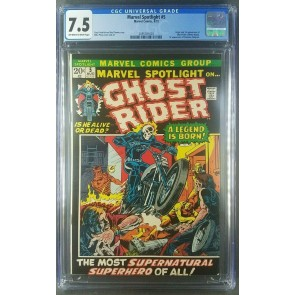 Marvel Spotlight #5 (1972) CGC 7.5 VF- 1st App Ghost Rider 2095781003 |