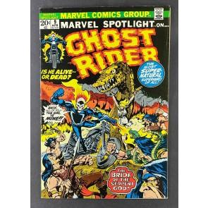 Marvel Spotlight (1971) #9 FN+ (6.5) Ghost Rider Johnny Blaze