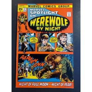 MARVEL SPOTLIGHT #2 (1972) VF- (7.5) 1st appearance Werewolf by Night |