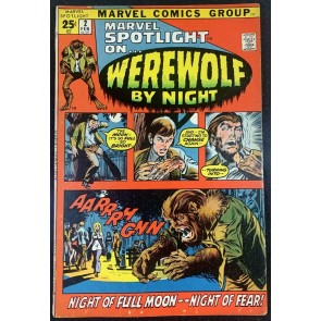 Marvel Spotlight (1972) #2 FN+ (6.5) 1st app Werewolf By Night