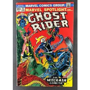 Marvel Spotlight (1971) #8 FN+ (6.5) 4th App Ghost Rider 1st App Snake Dance