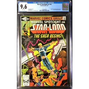 Marvel Spotlight vol 2 (1979) #6 CGC 9.6 1st comic app Star-Lord (2128262005)