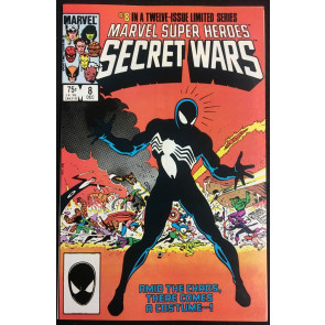 Marvel Super Heroes Secret Wars (1984) #8 NM (9.4) or better Origin of Venom