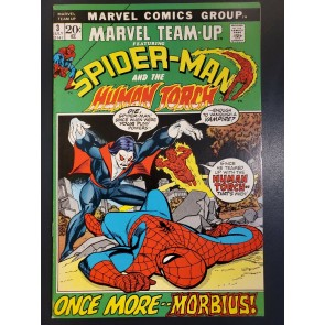 Marvel Team-Up #3 (1972) VF/NM 3rd Morbius after Amazing Spider-Man 101, 102 |