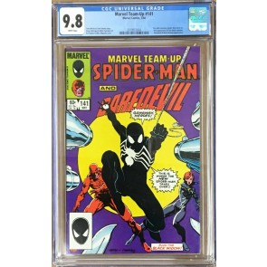 Marvel Team-Up (1972) #141 CGC 9.8 White Pages (2019912004) Black Costume