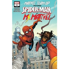 Marvel Team-Up (2019) #1 VF/NM Stefano Caselli Cover Ms. Marvel/Spider-Man