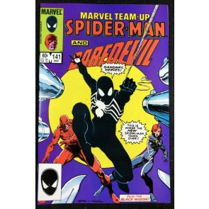 Marvel Team-Up (1972) #141 NM- Spider-Man tied with ASM #252 1st Black Costume