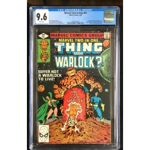 Marvel Two-In-One (1974) #63 CGC 9.6 white pages Thing Warlock (3742143010)