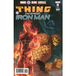 Marvel Two-In-One Annual (2018) #1 VF/NM Pyeong Jun Park Variant Cover