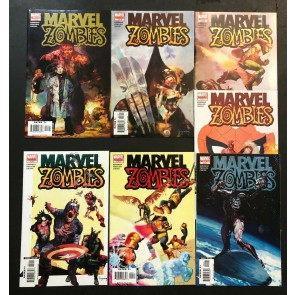 Marvel Zombies (2006) #1 2 3 4 5 VF/NM complete set + 2nd prints 7 books total