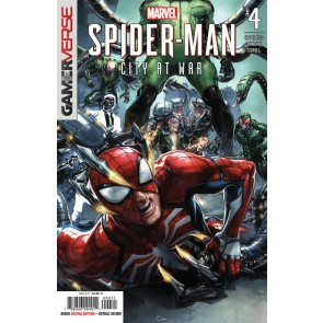 Marvel's Spider-Man: City At War (2019) #4 VF/NM Clayton Crain Cover
