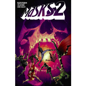 MASKS 2 (2015) #5 VF/NM BUTCH GUICE COVER DYNAMITE