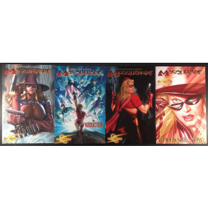 Masquerade (2009) 1 2 3 4 complete set Alex Ross covers Dynamite Entertainment