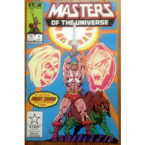 Masters of the Universe (1986) #1 2 3 VF+ (8.5) or better He-Man Star Marvel