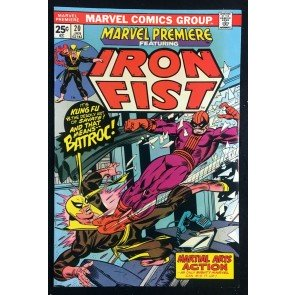 Marvel Premiere (1972) #20 NM (9.4) featuring Iron Fist vs Batroc