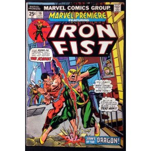 Marvel Premiere (1972) #16 VG/FN (5.0) featuring Iron Fist 2nd app.