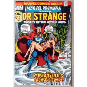 Marvel Premiere (1972) #9 FN/VF (7.0) featuring Dr Strange Jim Starlin art