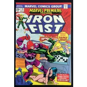 Marvel Premiere (1972) #18 NM (9.4) featuring Iron Fist
