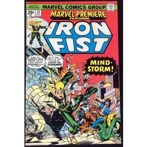 Marvel Premiere (1972) #25 VF- (7.5) featuring Iron Fist 1st John Byrne issue