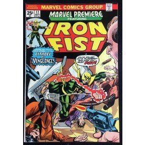 Marvel Premiere (1972) #17 NM (9.4) 3rd app Iron Fist
