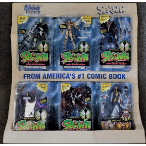 McFarlane Toys Spawn Series 3 Costco Limited Edition HTF Action FIgure 6 Pack
