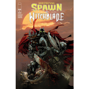 Medieval Spawn & Witchblade (2018) #2 VF/NM Greg Capullo Cover Image Comics