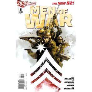 MEN OF WAR #3 NM THE NEW 52!