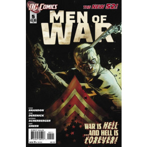 MEN OF WAR #5 NM THE NEW 52!