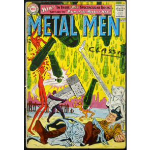METAL MEN #1 GD+ 5TH APPEARANCE