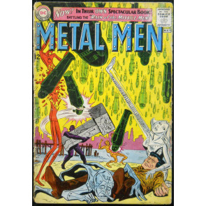 METAL MEN #1 GD 5TH APPEARANCE
