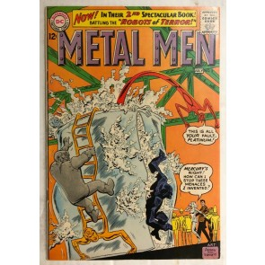 Metal Men (1963) #2 VF- (7.5) Ross Andru & Mike Esposito