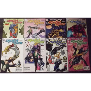 METAL MEN (2007) #'s 1, 2, 3, 4, 5, 6, 7, 8 COMPLETE SET
