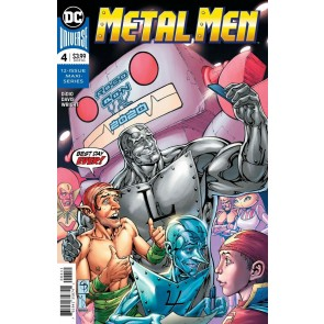 Metal Men (2019) #4 VF/NM Davis Regular Cover