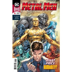 Metal Men (2019) #1 VF/NM Davis Regular Cover