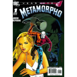 "METAMORPHO: YEAR ONE #""s 1, 2, 3, 4, 5, 6 COMPLETE VF/NM SET"