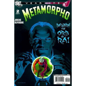 METAMORPHO: YEAR ONE #