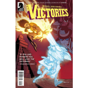 MICHAEL AVON OEMING'S THE VICTORIES #12 VF/NM DARK HORSE COMICS