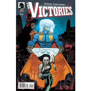 MICHAEL AVON OEMING'S THE VICTORIES #5 VF/NM DARK HORSE 2013