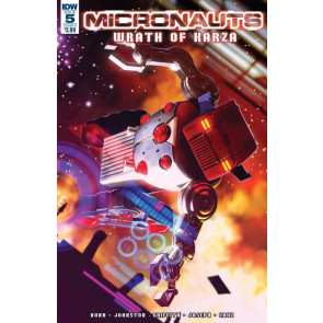 Micronauts: Wrath of Karza (2017) #5 VF/NM Alex Ronald IDW