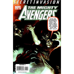 MIGHTY AVENGERS #17 VF+ SECRET INVASION