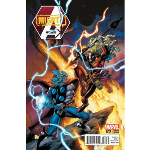 MIGHTY AVENGERS (2013) #2 THOR BATTLE VARIANT COVER MARVEL NOW!