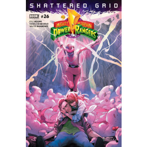 Mighty Morphin Power Rangers (2016) #26 VF/NM (9.0) Shattered Grid Boom! Studios