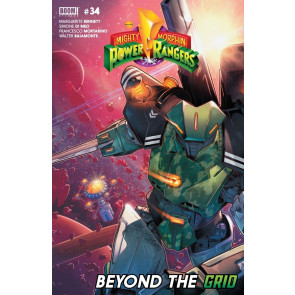 Mighty Morphin Power Rangers (2016) #34 VF/NM Jamal Campbell Boom!
