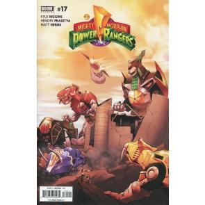 Mighty Morphin Power Rangers (2016) #17 VF/NM Jamal Campbell Cover Boom! Studios