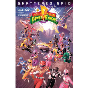 Mighty Morphin Power Rangers (2016) #29 VF/NM Shattered Grid Boom! Studios