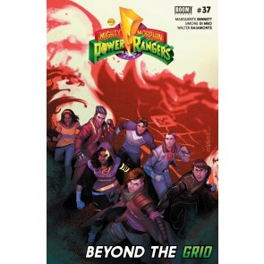 Mighty Morphin Power Rangers (2016) #37 VF/NM Jamal Campbell Cover Boom! Studios
