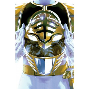 Mighty Morphin Power Rangers (2016) #40 VF/NM-NM Foil Cover 1st App White Ranger